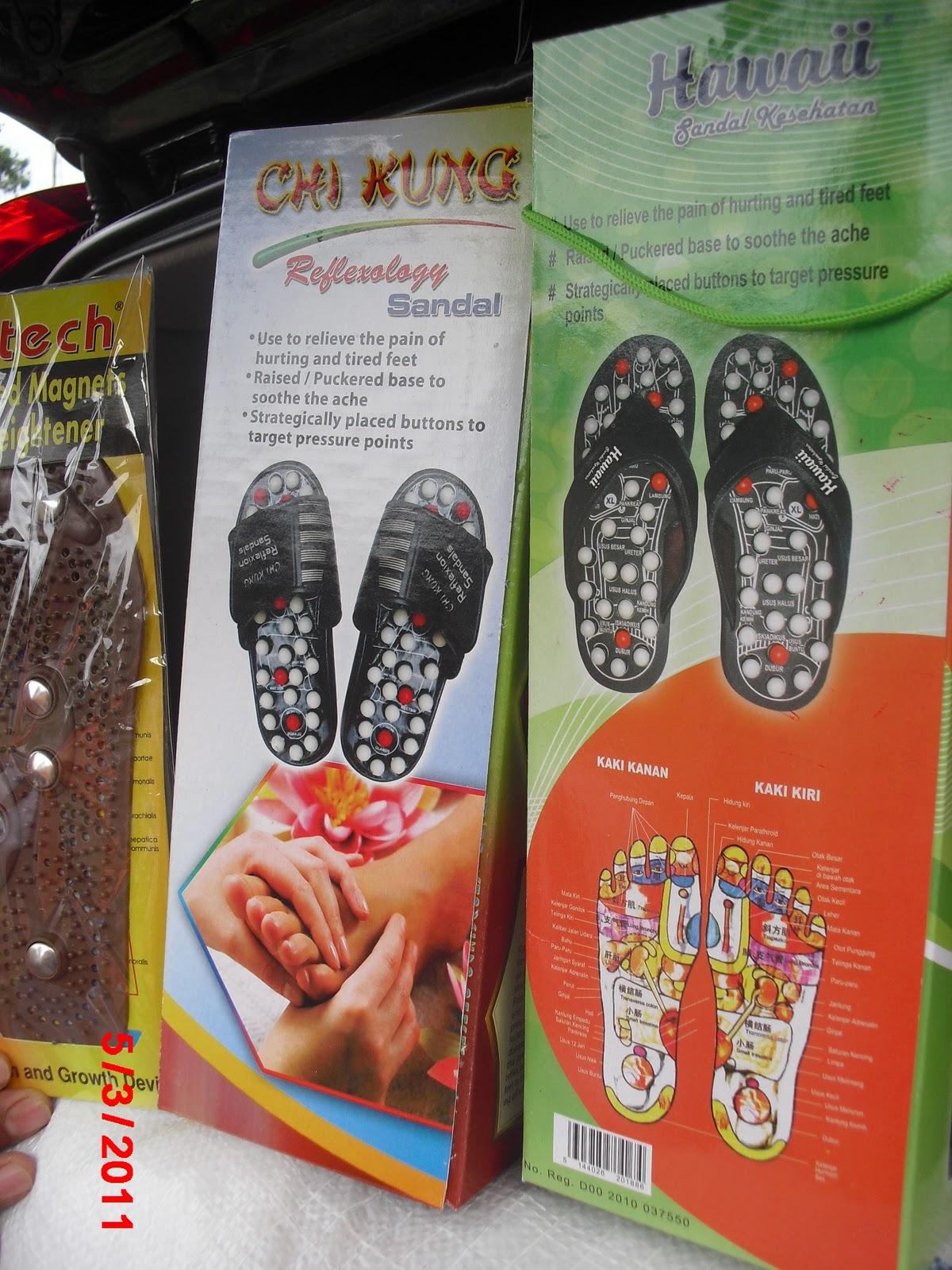 Sandal Refleksi Kesehatan Terapi Yang Baik Untuk Sendal Menghapuskan Toksin Racun Internal Dan Menjaga 8 Merangsang Metabolisme Membantu Antiaging 9 Memperkuat Efektifitas Anti Biotik