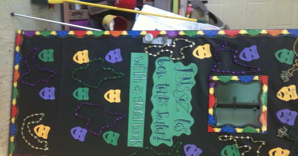 A Librarian Life For Me More Door Decor Mardi Gras