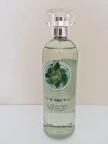 The Body Shop Fuji Green Tea, The Body Shop Fuji Green Tea Review, The Body Shop