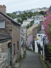 Narrow streets of Polruan