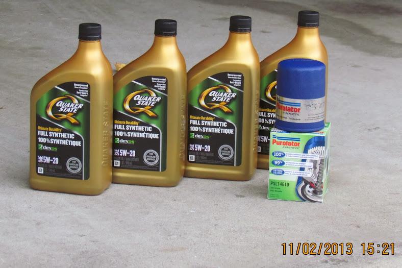 4 Quarts 3 78l Oil Not Enough For 2009 Honda Civic