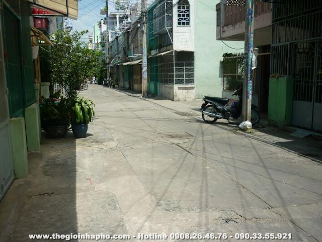 Bán nhà HXH Lạc Long Quân , Quận 11 giá 2 tỷ   NT130