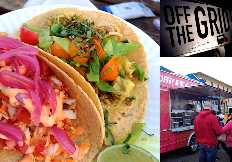 Tacos from Taco Guys during Off the Grid