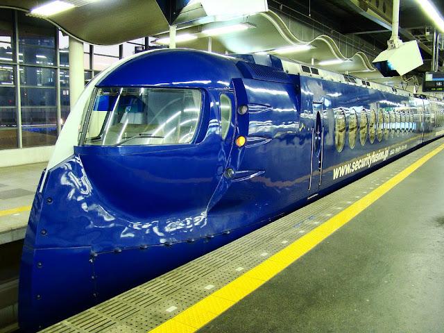 Tàu hỏa Nankai Rapi:t trong thực tế