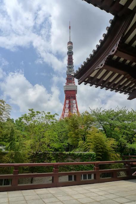 zojoji tour de tokyo