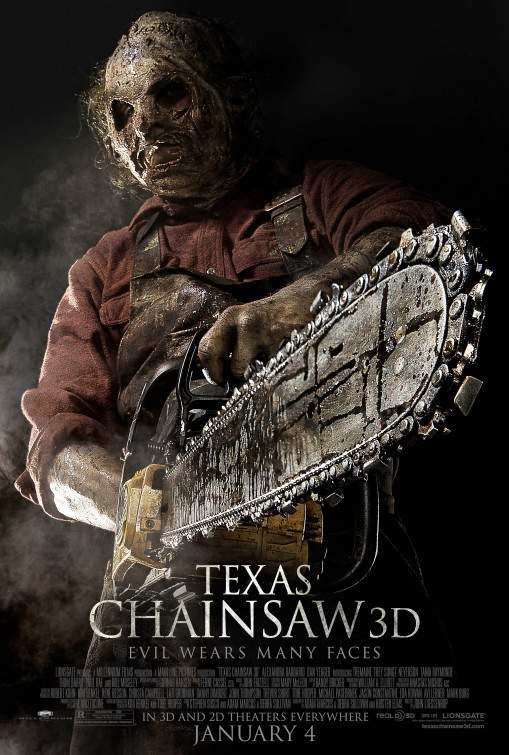 Poster Of Texas Chainsaw (2013) Full Movie Hindi Dubbed Free Download Watch Online At Alldownloads4u.Com