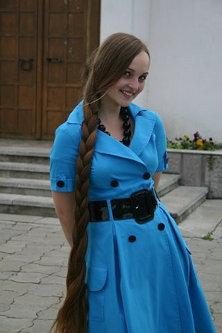 very long braid Girl with long tress Hairstyles, Hair Transplant
