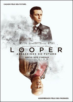 Filme Poster Looper – Assassinos do Futuro R5 XviD Dual Audio & RMVB Dublado