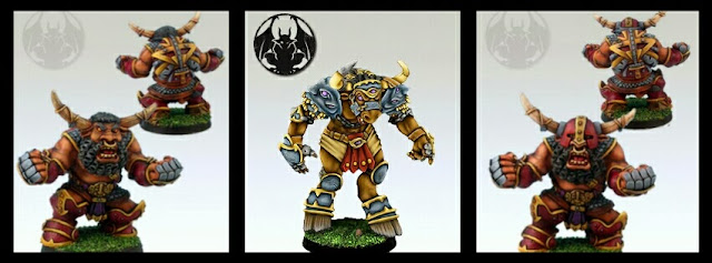 Minotauros Greebo Blood Bowl