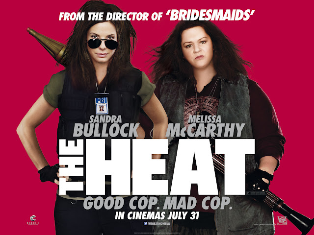 The Heat Quad Poster