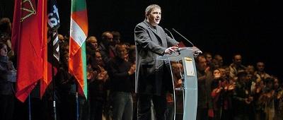 Arnaldo Otegi, un dels protagonistes del procés de pau al País Basc