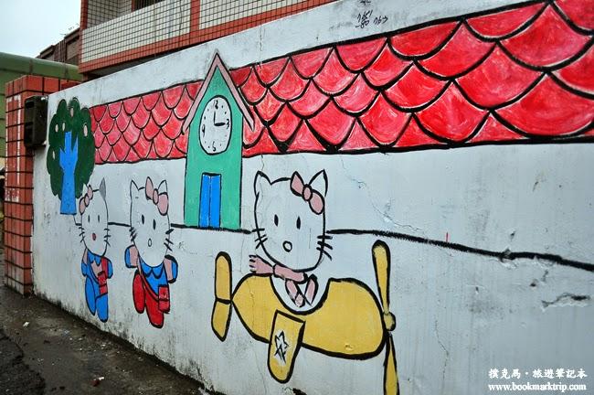 福寶乳牛彩繪村Hello Kitty