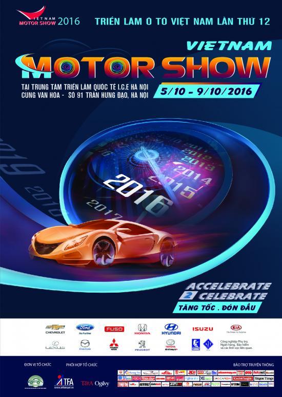 Vietnam Motor Show 2016 hứa hẹn sẽ đầy hoành tráng
