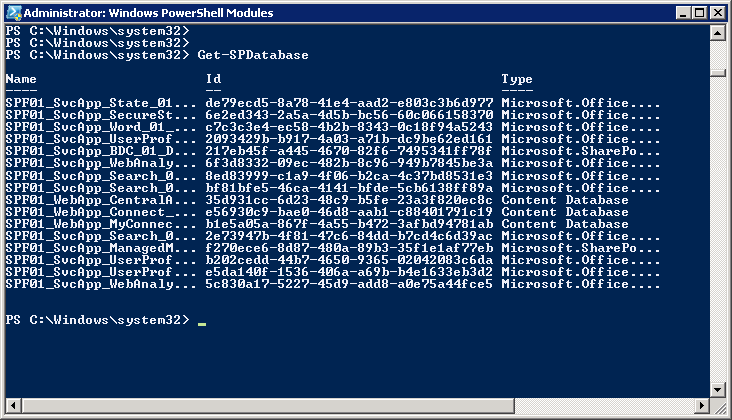 sharepoint 4 0  powershell get