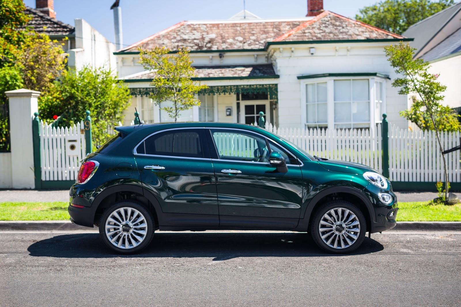 Fiat 500X 2016 là một chiếc SUV có vẻ ngoài tuyệt đẹp