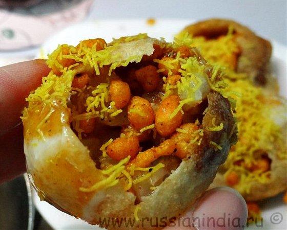 Индийская кухня: Дахи Пури
