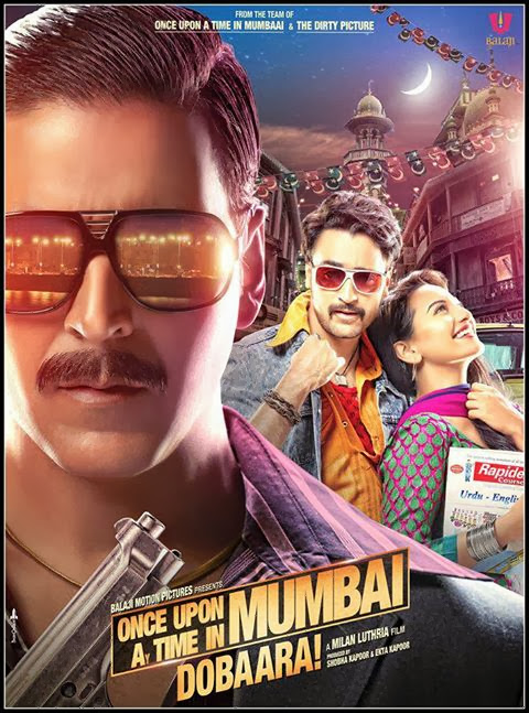 Poster Of Hindi Movie Once Upon Ay Time In Mumbai Dobaara! (2013) Free Download Full New Hindi Movie Watch Online At Alldownloads4u.Com