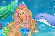 لعبة تلبيس حورية البحر