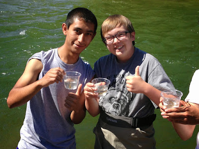 Denver School for International Studies Students - Trout In the Classroom Release