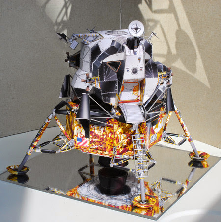 Apollo 13 Lunar Module Aquarius Papercraft