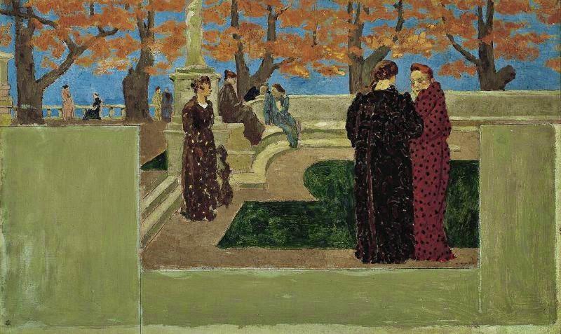Ker Xavier Roussel - Reunion des Dames, c. 1893