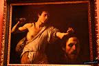 Caravaggio. David con cabeza de Goliat. 1604