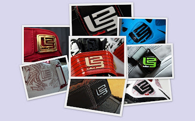 news logo collage lbj23 A Look at Unreleased LeBron James Signature... Logo