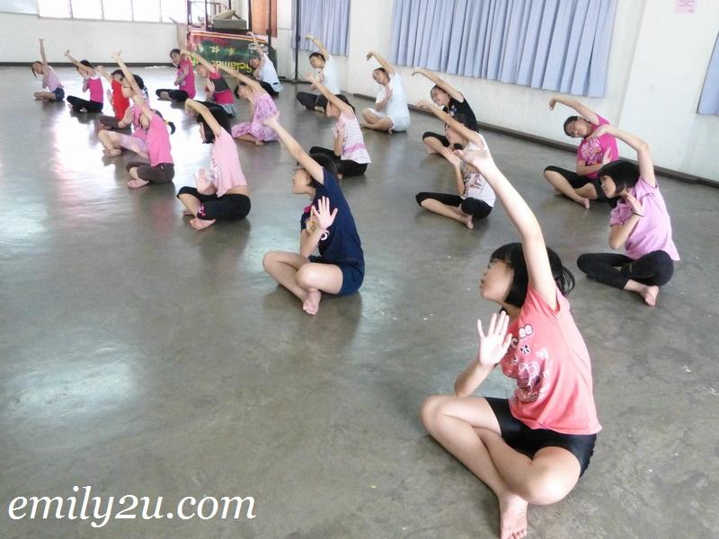 dance practice Ipoh