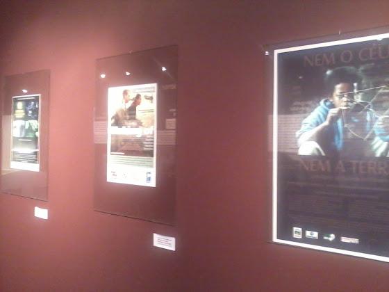 museu imagem som mis centro integrado de cultura cic florianópolis mural cartazes filmes catarinenses