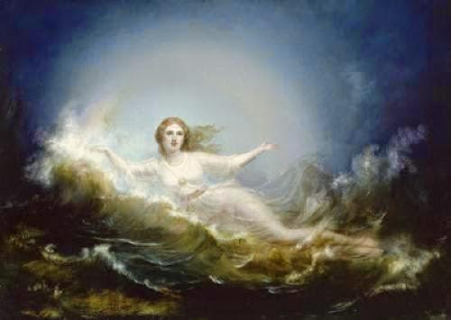 Ilmatar Finnish Goddess Of Creation