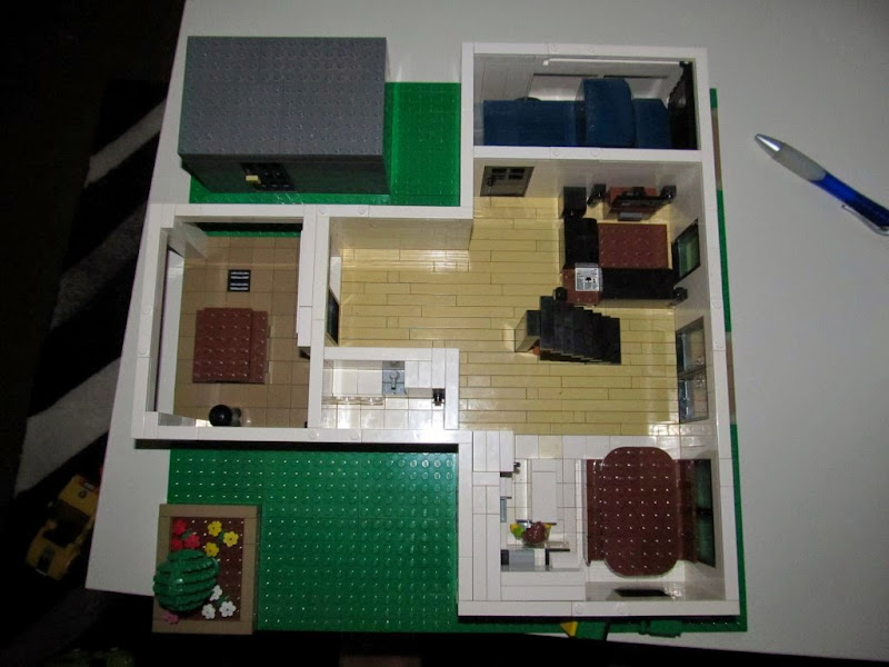 3 Story Lego House Bigger Than Modular Size Lego Town