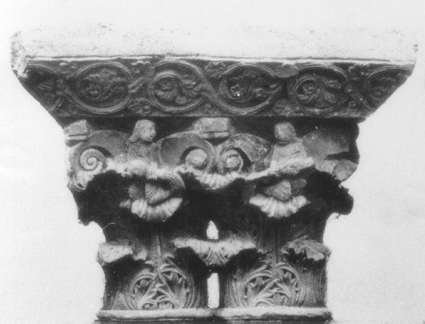 Apostolado en Románico Capitel
