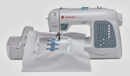 SINGER Futura XL40 Computerized Sewing And Embroidery Machine With Unique How To Thread A Singer Futura Sewing Machine