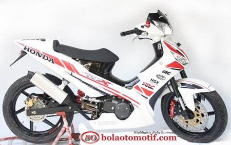 Modifikasi Extriem Motor Honda Supra X 125 f