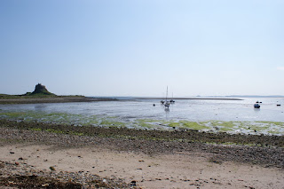 Holy Island in Northumberland