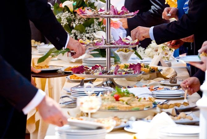 Wedding Food Stations, A Better Way To Present Reception