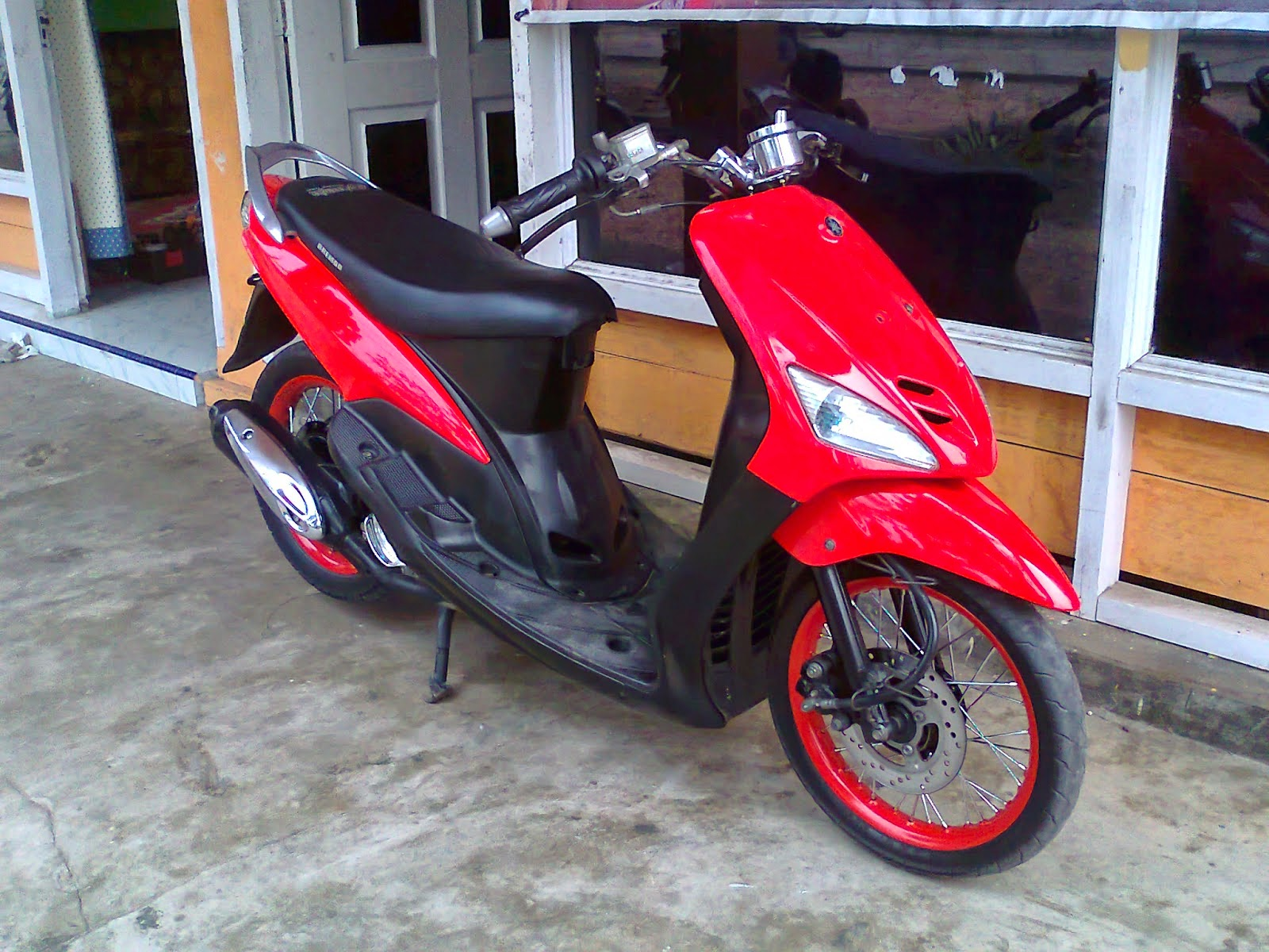 Modifikasi Mio Sporty Supermoto Modifikasi Motor Kawasaki Honda Yamaha