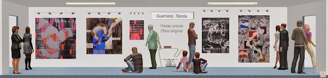 Sala de exposición virtual de pinturas de Guerrero Tonda