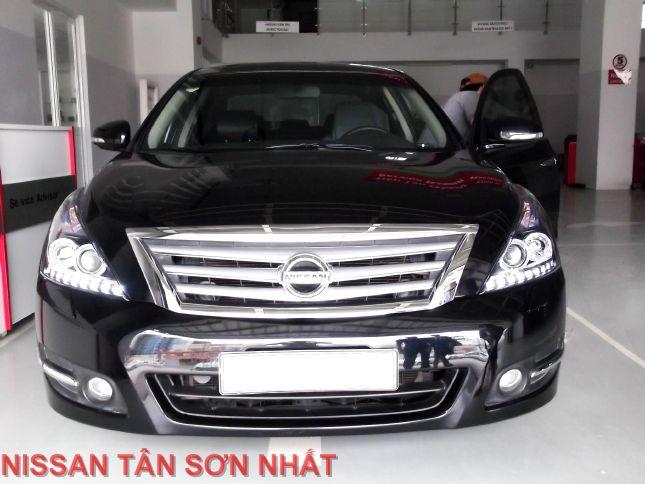 Nissan Teana Lên Xenon 2 Em Màu đen Và Bạc Nissan