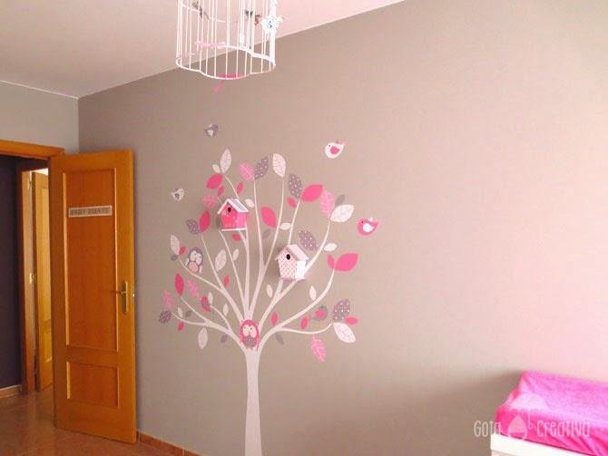 Ideas para remodelar ba os - Pintura habitacion bebe nina ...