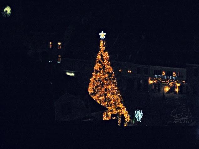 panorama noaptea brasov turnul alb