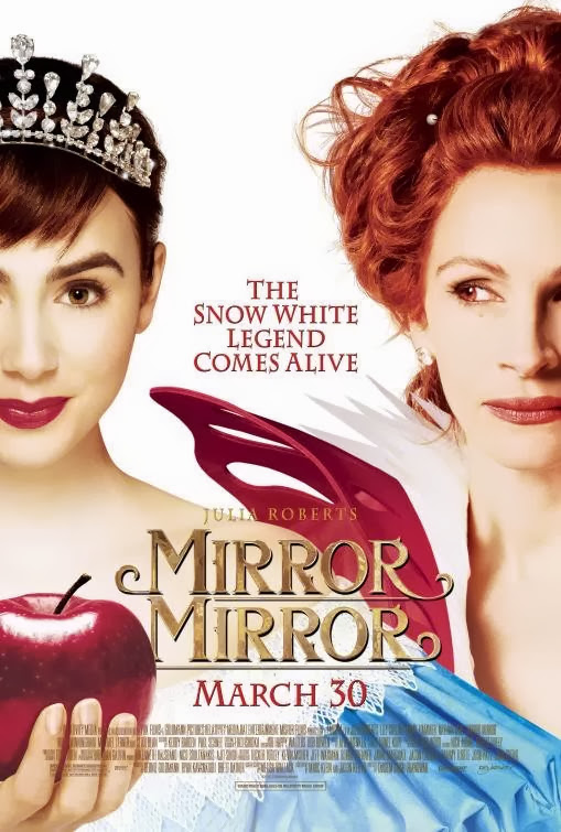 Poster Of Mirror Mirror (2012) Full Movie Hindi Dubbed Free Download Watch Online At Alldownloads4u.Com