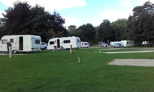 Cirencester Park Caravan Club Site at Cirencester Park Caravan Club Site