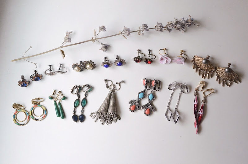 My Earring Collection