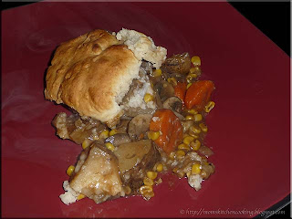 stew with biscuits
