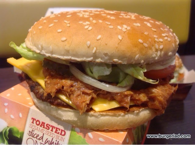 Burger King Pulled Pork BBQ Whopper