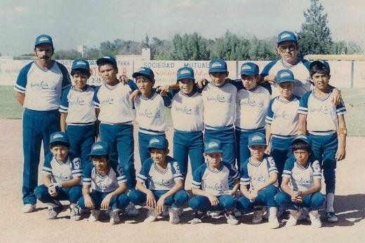 Liga Contry de Nuevo León en el campeonato nacional de ligas pequeñas categoría menor de 1986