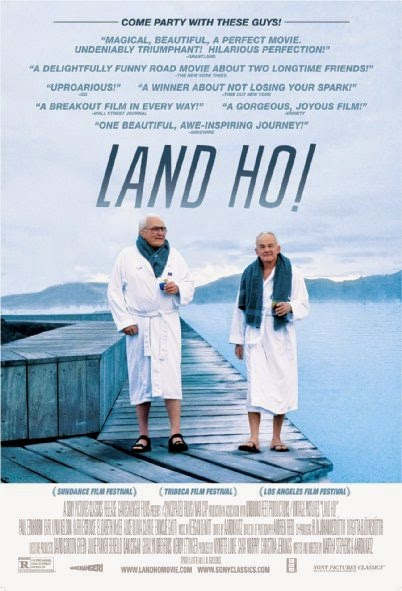 Poster Of English Movie Land Ho! (2014) Free Download Full New Hollywood Movie Watch Online At alldownloads4u.com