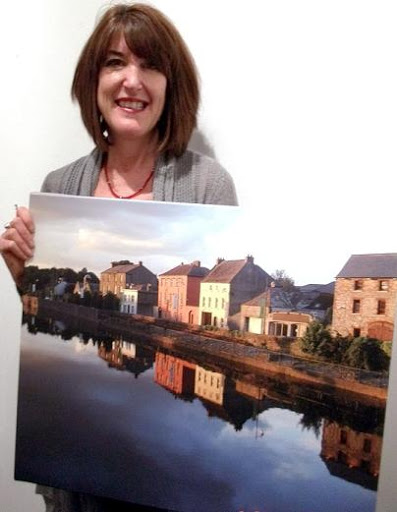 "People's Choice Award: ""Kilkenny, Ireland at Dusk"" by Eileen Hall"