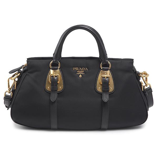 02c00094a21c Prada Tessuto Soft Calf Leather Tote BN1903 BN 1903 Nero (Black ...